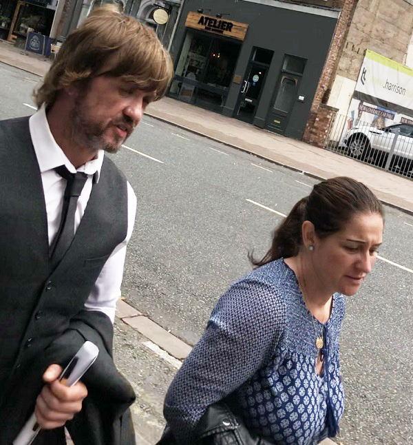 Liam and Clare Stratton