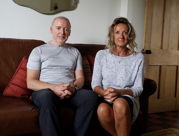Lynn and Brian Hibbert