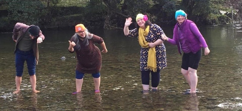 Manna House is asking people to fundraise with a sponsored wild swim this winter.