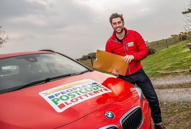 People's Postcode Lottery ambassador Matt Johnson