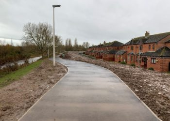 Melbourne Park Carlisle Phase 1 of Environment Agency flood defence work