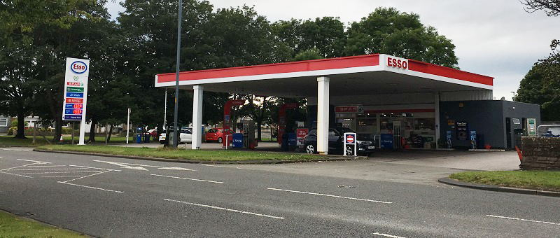 The scene of Lisa Nugent's early morning robbery, at Wigton Road, Carlisle