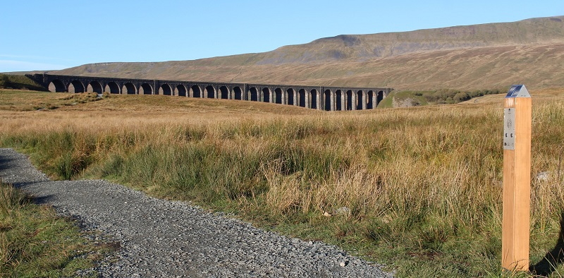 News footpaths and sound posts were part of the Ribblehead vistor enhancement scheme