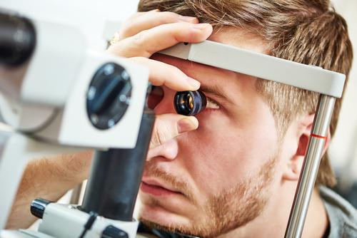 Ophthalmologist eye