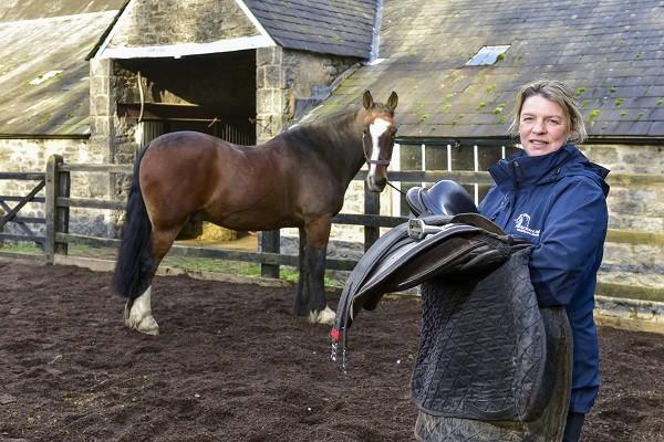 Owner of Witherslack Hall Equestrian Centre Deanna Tarr (photo Stuart Walker)