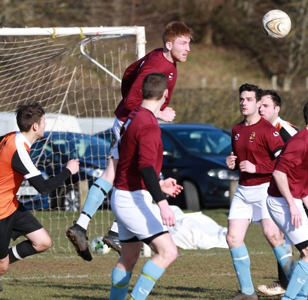Penrith Royal clear a Langwathby attack (Colin Watson)