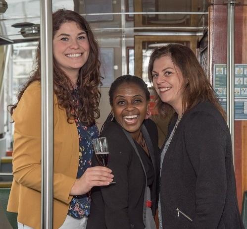 Awards Creators and Organisers L-R: Sophia Newton – Flock, Janett Walker – Flock, Sue Howorth – The Family Business Network Ltd