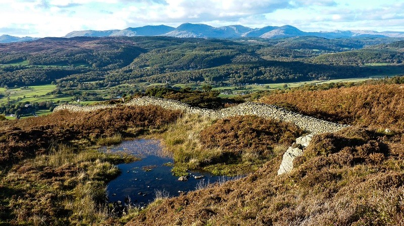 Rusland Heights and Old Man of Coniston