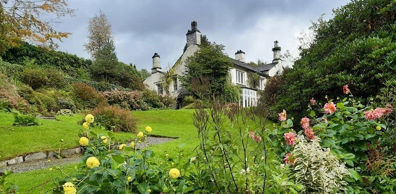 Rydal Mount house and gardens