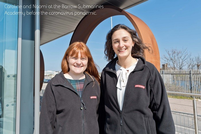 Caroline Brown and Naomi Pulfrey