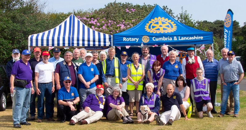 Silloth on Green Rotary Team (photo Brian James Photography/Four Counties Photography)
