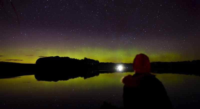 Stargazing at Talkin Tarn. Photo credit: Stuart Walker Photography
