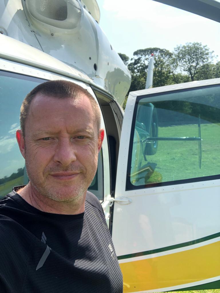 Stuart Rushton Great North Air Ambulance Service pilot