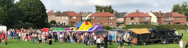 Summer Splash event in Upperby