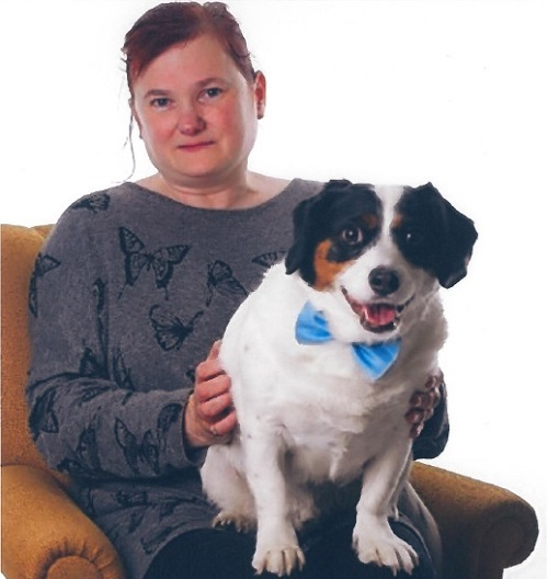 Susan Shaw and her dog Smudge