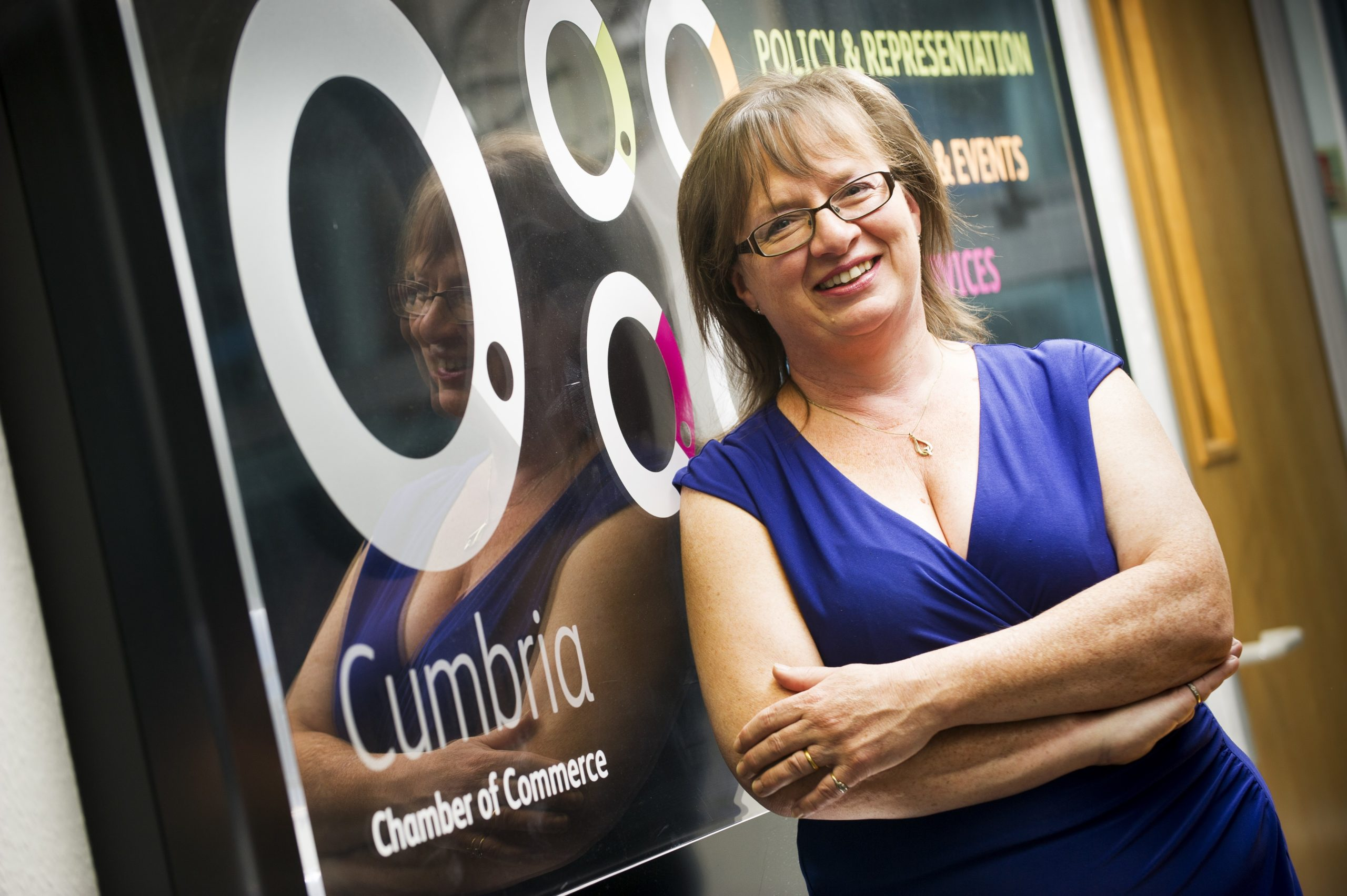 Cumbria Chamber of Commerce Managing Director Suzanne Caldwell
