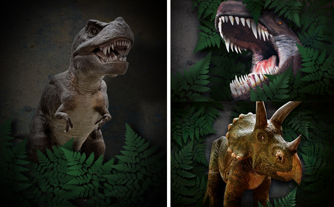 State of the art animatronic dinosaurs will soon be landing in Cumbria