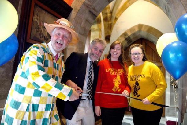 Gary 'Gecko' Bridgens, Fool of Muncaster opens the BearGanza
