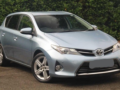 A Toyota Auris, similar to the one involved in the crash