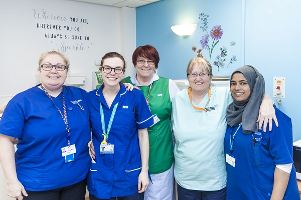 UHMBT Women and Childrens Care Group staff