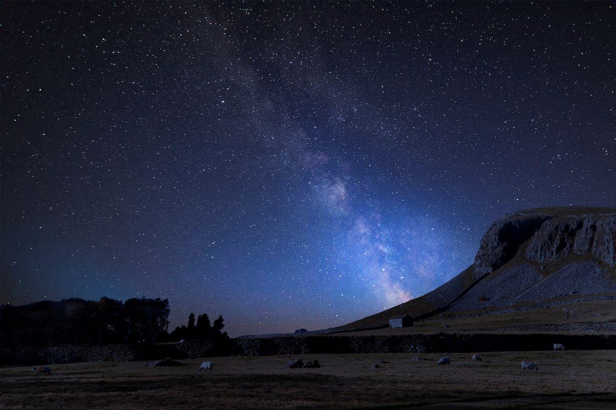 Milky Way over Norber Ridge by Matt Gibson