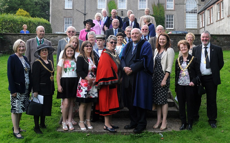 The Civic Church Service that took place in Workington on Sunday 30 July