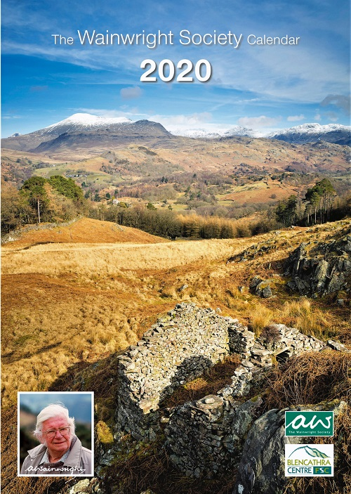 The front cover of The Wainwright Society 2020 Calendar