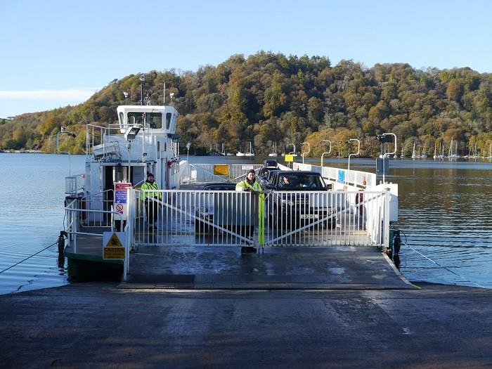 Windermere car ferry