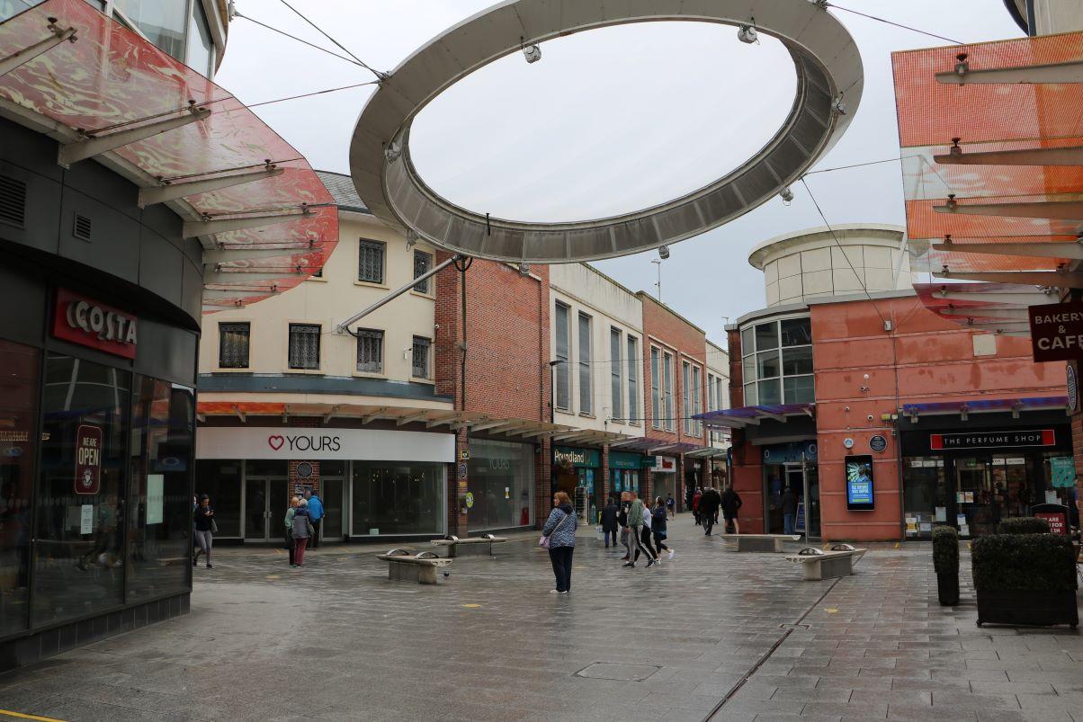 Workington town centre