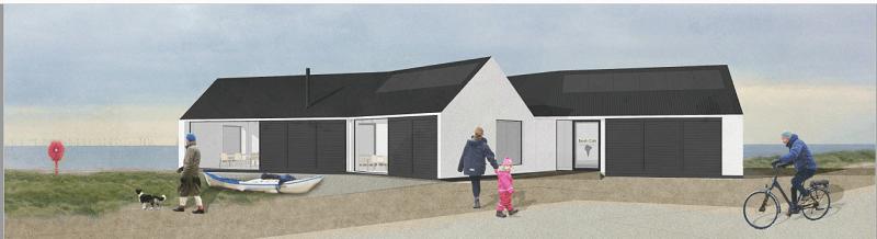 Concept design Silecroft Beach Café