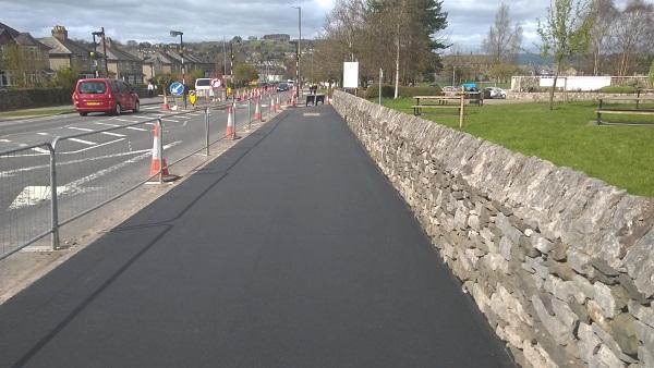 Phase 1 Kendal cycleway