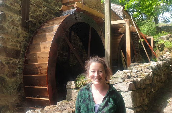 Kate Hughes, Eskdale Mill Manager