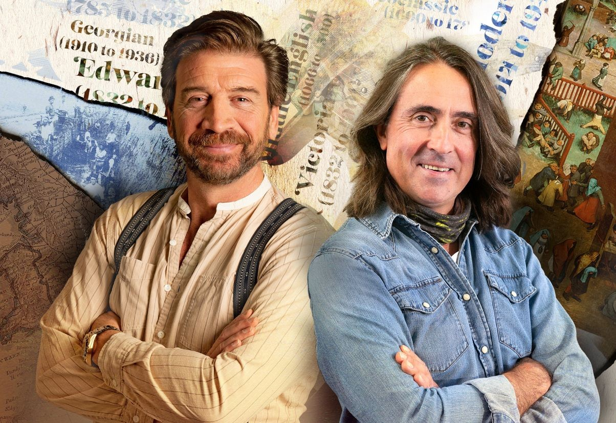 Nick Knowles and Neil Oliver