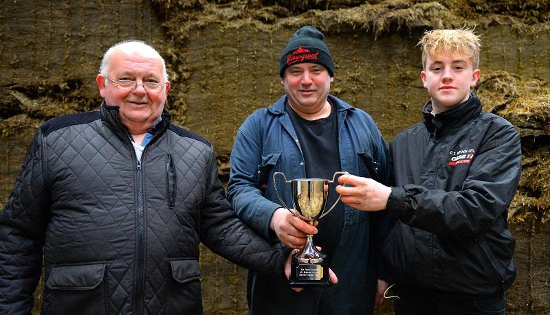 L-R: Tony, Steven and Harry Hunter.