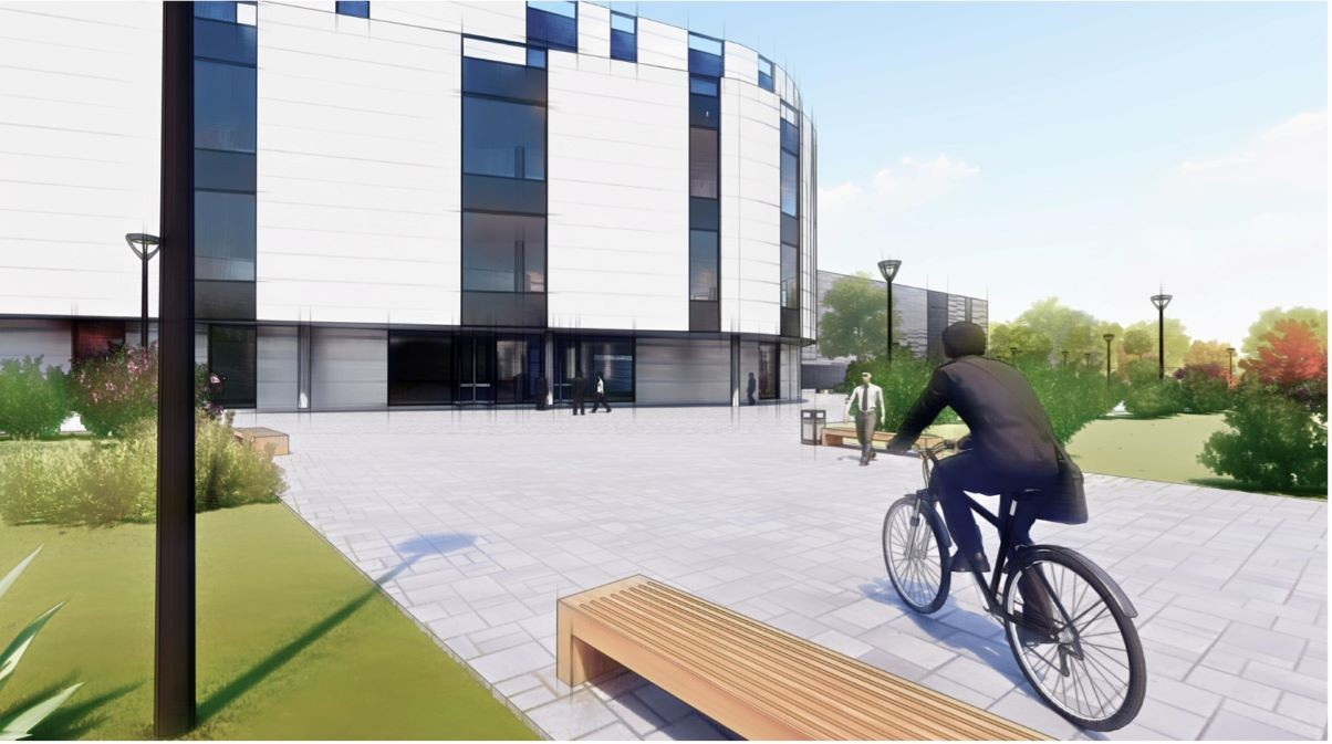 Artist's impressions of Lakes BioScience's biopharmaceuticals site in Ulverston