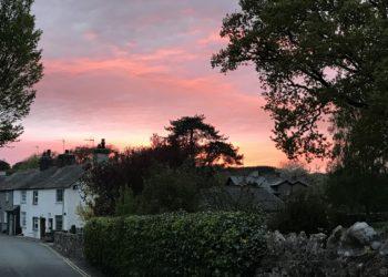 Cartmel sunset