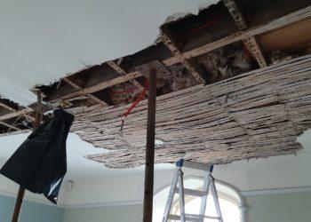 Coleridge's bedroom ceiling at Allan Bank C. National Trust Images