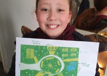 Dearham Primary School - Daisy Smith winning design