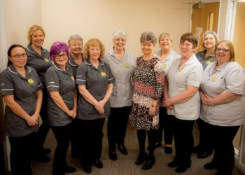 Sellafield Ltd has made a generous grant of £24,487 towards the specialist palliative and end of life nursing service delivered by Hospice at Home West Cumbria