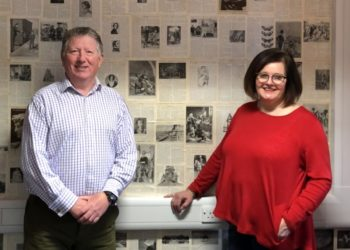 Mark Armstrong and Sandra Dempsy, Age UK West Cumbria's new Veteran Connectors.