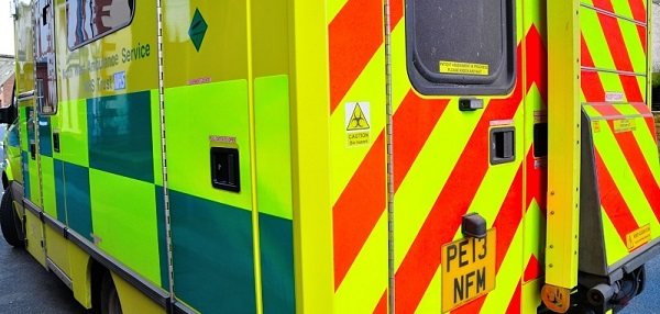 A cyclist has been taken to hospital after a crash at Honister Pass.
