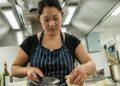 Nina Matsunaga head chef at the Black Bull Sedbergh. Credit Phil Rigby Photography