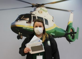 The Great North Air Ambulance Service has found a clever way of supporting its fundraising team in the community – by partnering with local firm Circular 1 Health to offer COVID-19 test and screening services for any employee wishing to take part.