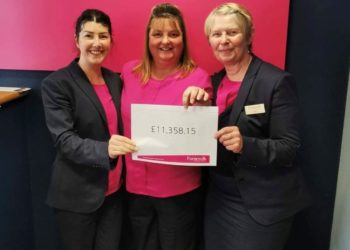Furness Building Society and its customers, represented by branch colleagues Katrina Hampson, Jill Hatton and Judith Hallworth