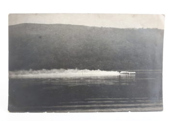 Sir Malcolm Campbell in the Blue Bird K4 on Coniston Water, August 19 1939