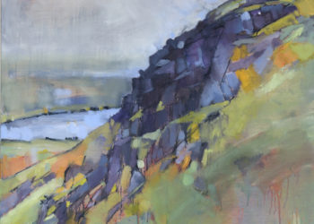 Patricia Haskey's painting of Coniston Old Man