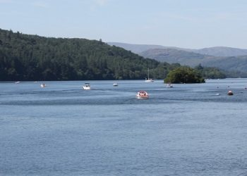 Windermere is ten and a half miles long and 219 feet deep, making it England's largest lake