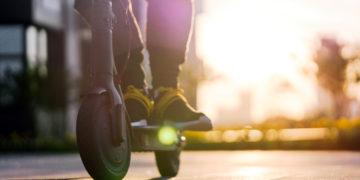 E-scooter. Shutterstock