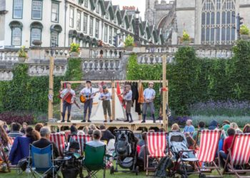 Three Inch Fools will perform Romeo and Juliet at the Arts & Crafts House on July 1 2021