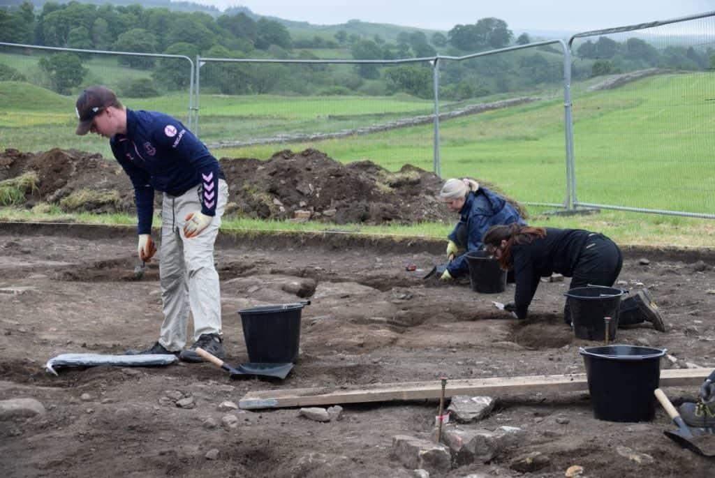 Excavations at Birdoswald Roman fort